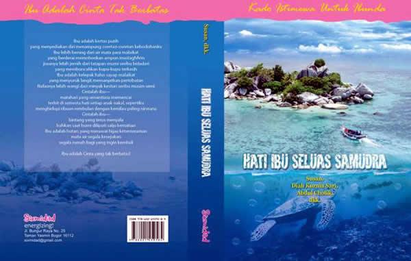 Cover Buku Hati Ibu Seluas Samudera