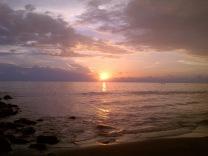 Sunset di Padang