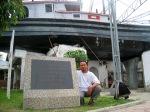 monumen kapal di atas rumah