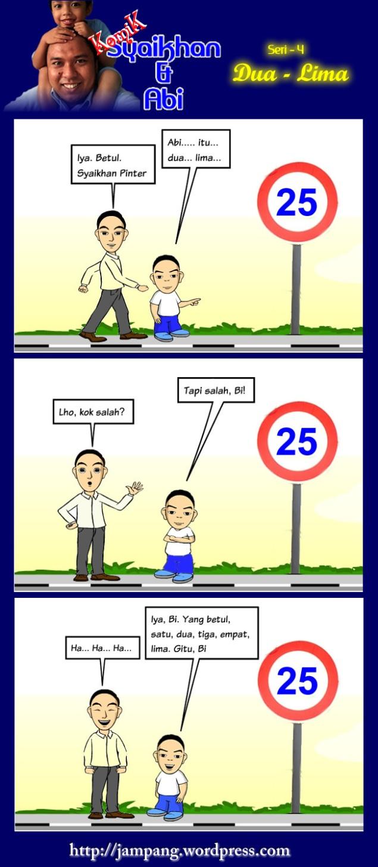 [komik syaikhan & abi] dua lima