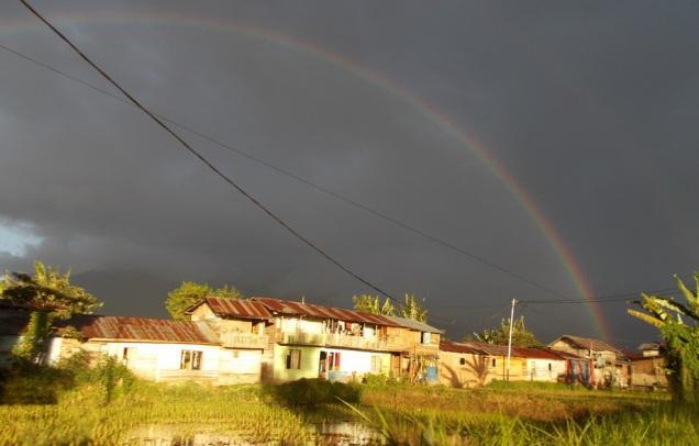 rainbow-before-sunset-in-bukittinggi