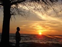 sunset in meulaboh