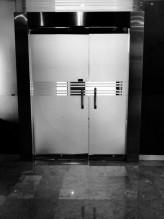 door in lobby @ my office