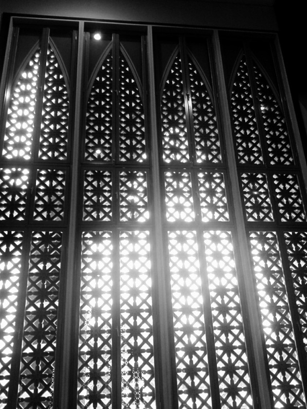 window @ masjid