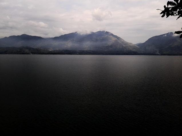 singkarak lake, west sumatera