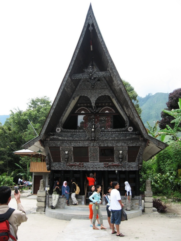 batak's house - samosir island