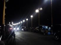 siti nurbaya bridge at night