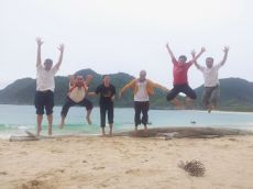 beach : you jump i jump