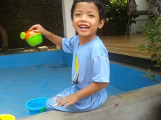 my son's smile