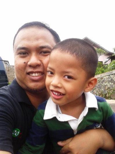 me & my son