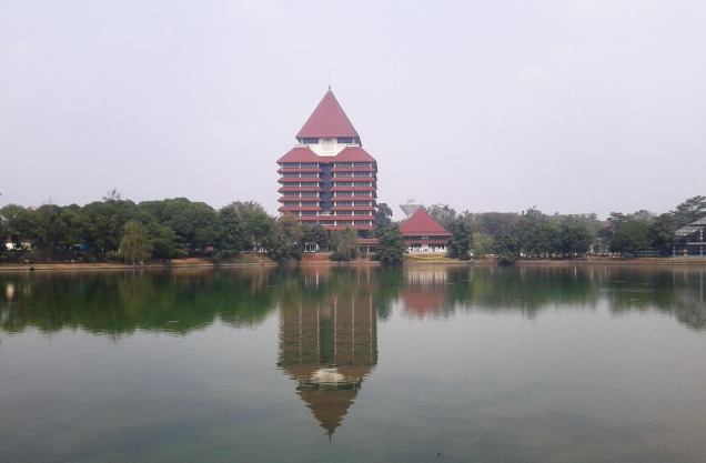 Reflections - Kampus Universitas Indonesia
