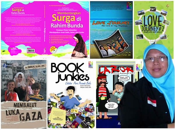 dr Prita Kusumaningsih dan Buku Karya Beliau