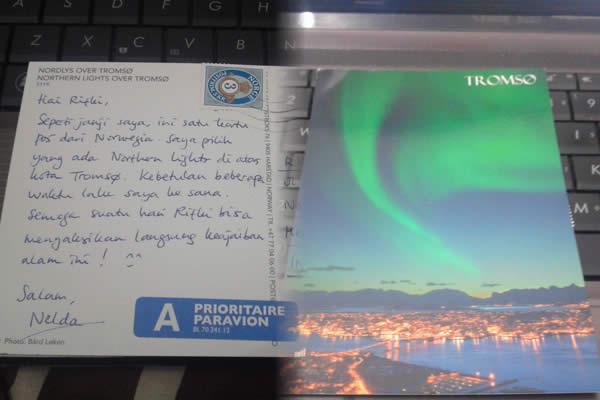 Kartu pos dari Norwegia