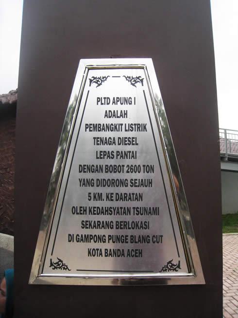 monumen tsunami PLTD Apung 1