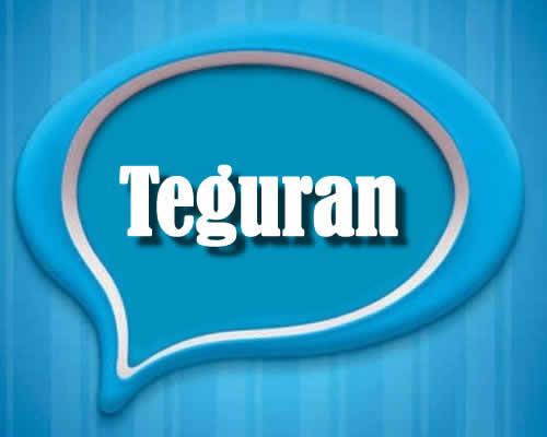 teguran