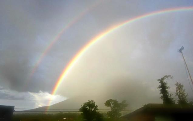 rainbow in bukittinggi