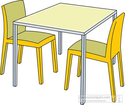 meja dan kursi