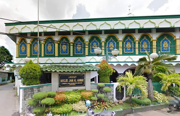 Masjid Jami Al-Anwar (sumber : googlemap)