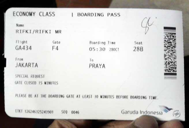 Tiket Pesawat Murah Jejak Jejak Yang Terserak