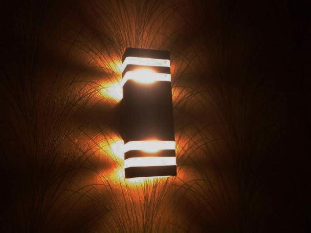lampu hotel