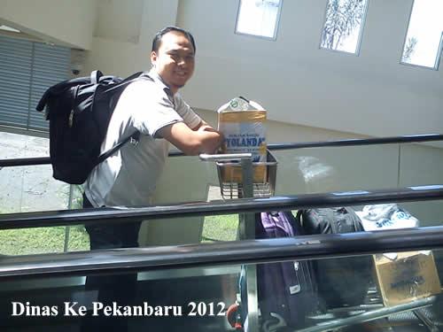 perjalanan dinas ke pekanbaru