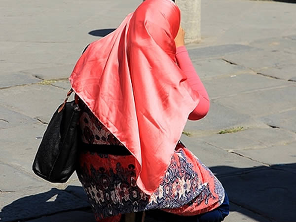 muslimah on the street