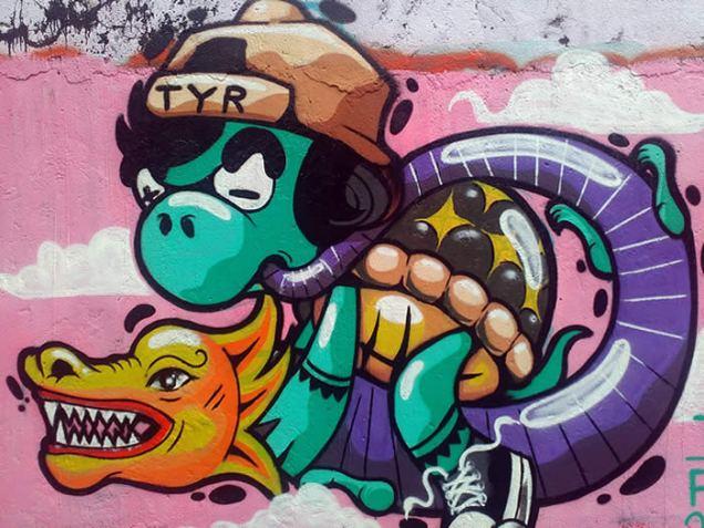 vibrant - mural 1