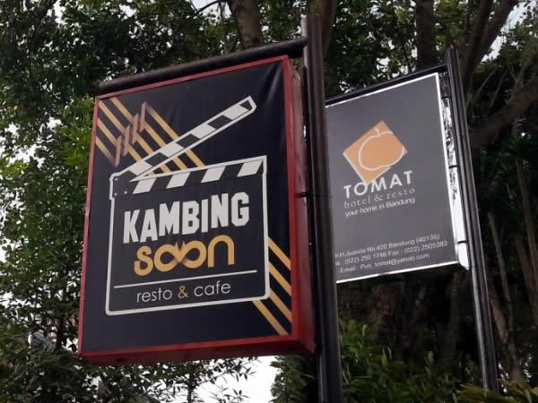 kambing soon dan hotel tomat