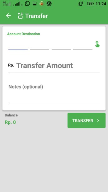 My COD Wallet : Transfer